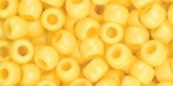 Bulk Buy: The Beadery Pony Beads 6x9mm 900/Pkg Yellow 750V-074 (3-Pack)