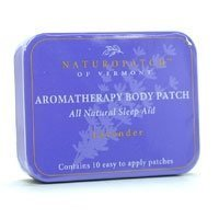 Aroma Body Patch (Aromatherapy Essential Oil Body Patches, Lavender, Chamomile & Jasmine, Sleep Aid 10 Patches Tin by)
