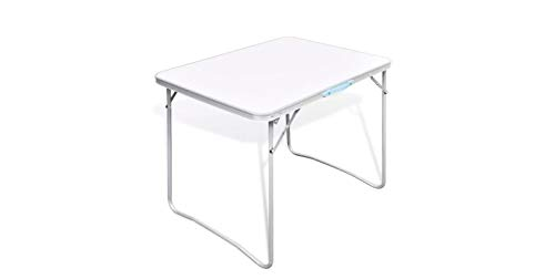 Comfyleads Camping Table Picnic Folding Foldable Outdoor with Metal Frame 31.5''x23.6'' by Comfyleads