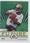 J.R. Russell #32/75 (Football Card) 2005 Upper Deck Reflections - [Base] - Green #188