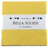 Bella Solids 30's Yellow Charm Pack 42 Squares 5