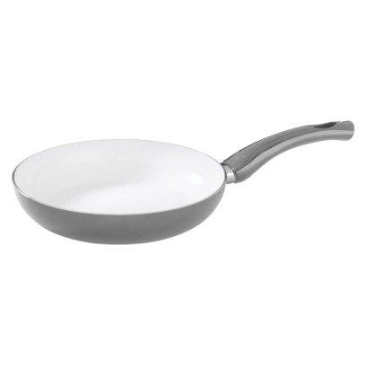 Diamond Home Frying Pan With Nonstick Coating 8 Inch - Metallic Gray