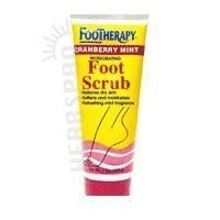 QUEEN HELENE FOOTHERAPY SCRUB,CRANBRY, 7 OZ (Footherapy Bath Foot)