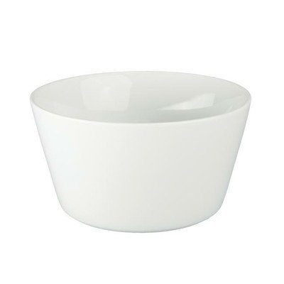 White Undecorated Individual 12 oz Souffle Bowl