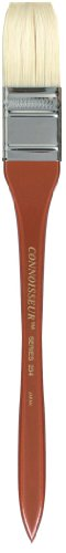 Connoisseur Hog Bristle Brush, 1-Inch Hake