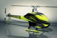 SAB Goblin 500 Flybarless Electric Helicopter Yellow/Black Kit with Quantum Motor