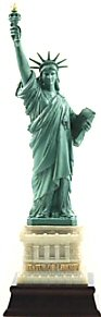 """Great Places To You Statue of Liberty Replica, Statue of Liberty Souvenirs, New York Souvenirs, 6"""" H"""