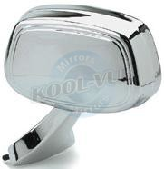 Kool-Vue GM27L Manual Driver Side Mirror Assembly (Oldsmobile Delta 88 Mirror Glass)
