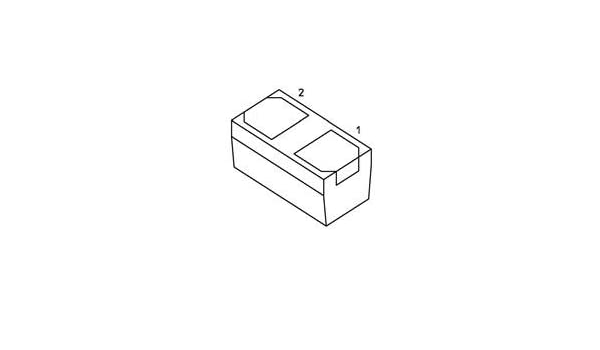 ESD Suppressors ESD Protection Diode 1 piece