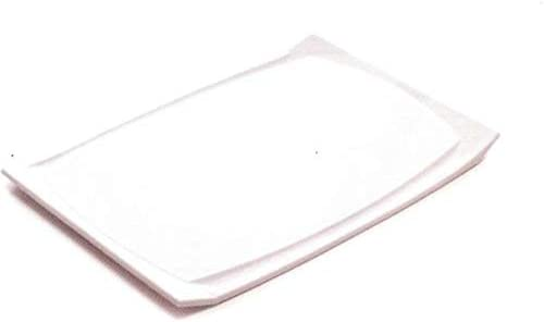 Amazon Com Tupperware Domed Cutting Board In White Kitchen Dining