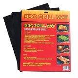 BBQ B00C1LWE32 Grill Mat (Set of 2), 15.75 x 13