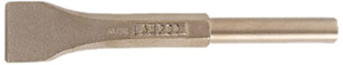 Ampco Safety Tools CP-20-ST Chisel with Pneumatic Scaling, Non-Sparking, Non-Magnetic, Corrosion Resistant, 1-1/2''