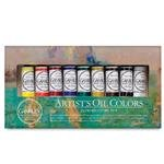 (Gamblin Artist Oil Colors Introductory Set,Multi,37 ml)
