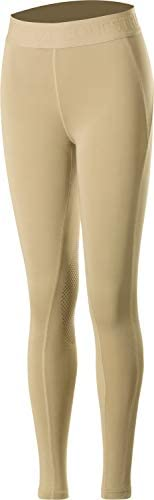 Horze Elsa Kids Silicone Knee Patch Tights