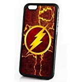 (For iPhone 6 / iPhone 6S) Durable Protective Soft Back Case Phone Cover - HOT30060 Superhero Flash (6 The Case Flash Iphone)