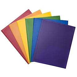 Office Depot Nearby (Office Depot 2-Pocket Poly Portfolio, Assorted Colors,)
