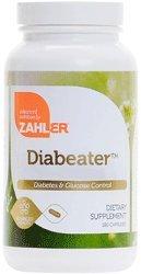 Zahlers Diabeater Advanced Diabetes Formula - 180 Capsules by Zahler