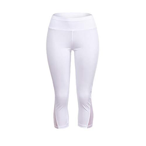 Sottile Ghette Palestra Fitness Esecuzione Atletico Gli Stretto Pantaloni Sport In Leggings Donna Yoga Bianca Donne Da vtqWS0A