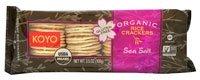 Organic Rice Crackers Sea Salt 3.50 Ounces (Case of 12) ()