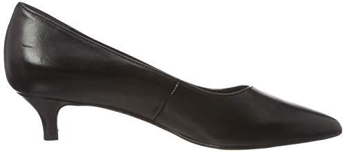 Schwarz 3 Tamaris Black Damen Pumps 31 Leather 22309 wH6vp