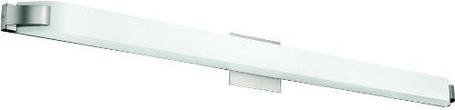 Light Fluorescent Bath Bar - Kichler 10416NI Nobu Linear Bath 50-Inch Fluorescent, Brushed Nickel