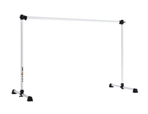 Vita Vibe Ballet Barre - B48 4ft Portable Single Bar - Freestanding Stretch/Dance Bar - Made in the USA