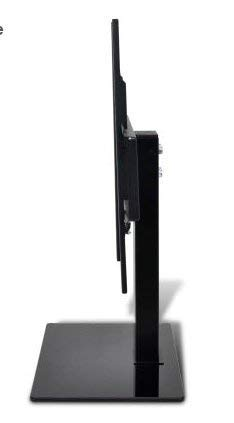 SKB Family TV Bracket with Base 23.6 x 15.7 for 32-70'' TV's Durable Tilting 15 Degrees downwards Hardware Easy to Assemble and Mount