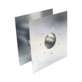 Z Flex Z Vent 3 Quot Wall Thimble Stainless Steel Venting