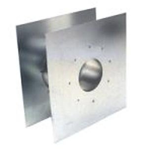 Z-Flex Z-Vent 3'' Wall Thimble Stainless Steel Venting (2SVSWTF03)