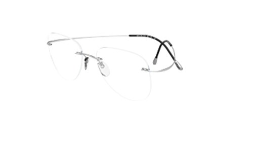 Eyeglasses Silhouette TMA Must Collection 2017 ( 5515 ) 7010 silver 55/17/150 3