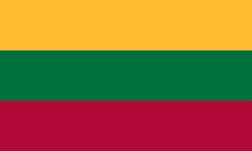 Valley Forge Flag 3-Foot by 5-Foot Nylon Lithuania Flag