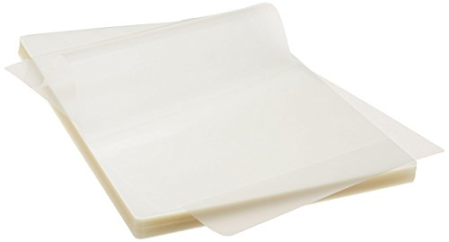 Thermal Laminating Pouches 3 Mil Clear Letter Size Laminating Sheets - 8.5 X 11 Inch (500 pcs/Pack)