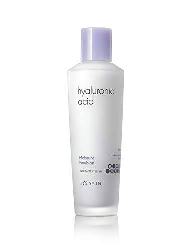 It'S SKIN Hyaluronic Acid Moisture Emulsion 150ml 5.07 fl. Oz. - Lotion For Dry Skin Hyaluronic Acid Vitamin C Protect Hydrating Lightweight Day Under Makeup Pore
