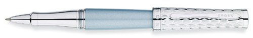 AT Cross Sauvage Moonstone Blue/Python Rollerball Pen - A...