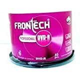 Frontech Professional 50 Pack Blank DVD-R