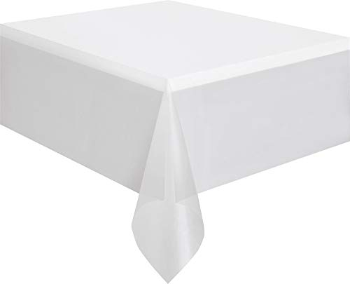 Clear Plastic Tablecloth, 108