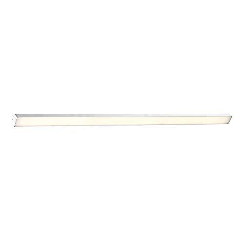 WAC Lighting WS-82962-AL DweLED Revel 62in LED Bathroom Vanity & Wall 3000K in Brushed Aluminum Light Fixture, 62 - 62 Vanity Inch