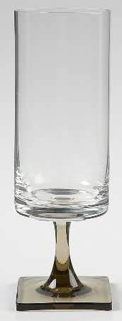 Rosenthal Crystal Linear Smoke 3200 Water Goblet 7