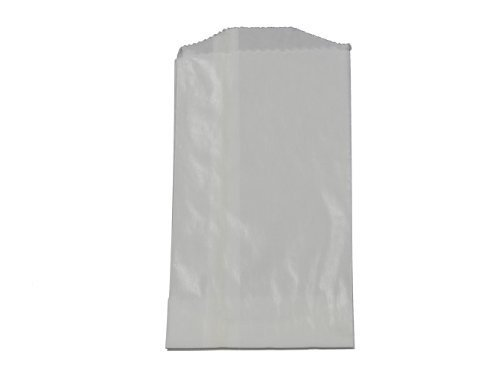 - 100 - Flat Glassine Wax Paper Bags - 3in x 5 1/2in - (7.6cm x 14cm) - Includes JenStampz Top 10 - Small