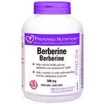 Preferred Nutrition Berberine 500 mg - 120 Vege Caps - Doctor's Trusted Choice