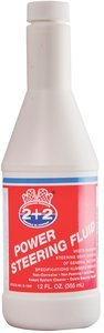 12oz bottle Amber Berkebile 2+2Â Power Steering Fluid, (Case of 12)
