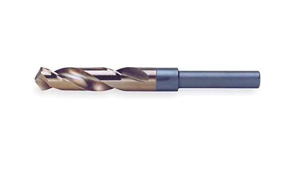 List Number: Non-Listed Westward 9//16 3-F Split Point Reduced Shank Drill Bit Black and Gold Finish 6PTG5 Pack of 2