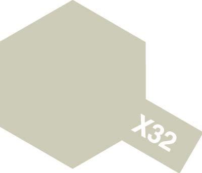 エナメル X-32 チタンシルバー