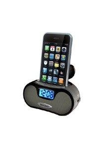 Westclox 81003 MP3 iPod/MP3 Speaker Alarm LCD by Westclox