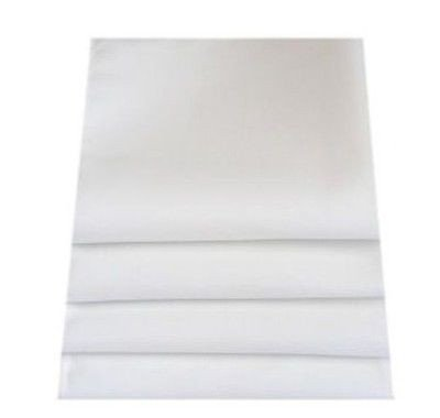 White Napkins: Set of 8 by Super Cool Creations