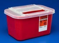 PT# -31143699 PT# # 31143699- Container Sharps-A-Gator Red 1gal Ea by, Kendall Company ()