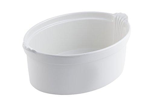 Bon Chef 2084 Aluminum Shell Casserole, 8 Quart Capacity, 13-1/2