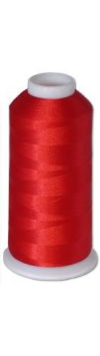 1 Cone of Commercial Polyester Embroidery Thread Kit - Christmas Red Bright P532-5500 Yards - 40wt