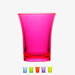 11cadf9f7 Reusable Plastic Shot Glasses 35ml - CE Stamped (Neon Yellow ...