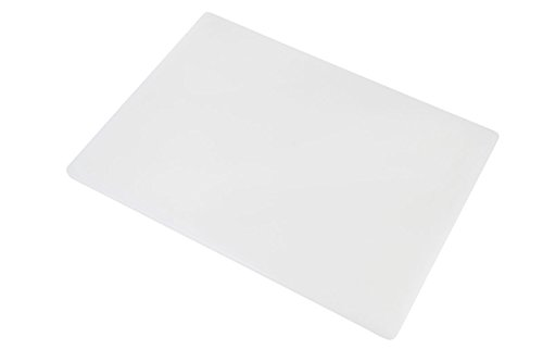 Professional Plastic Cutting Board, HDPE Poly for Restaurants, Dishwasher Safe and BPA Free (24 x 18 x 1/2, ()